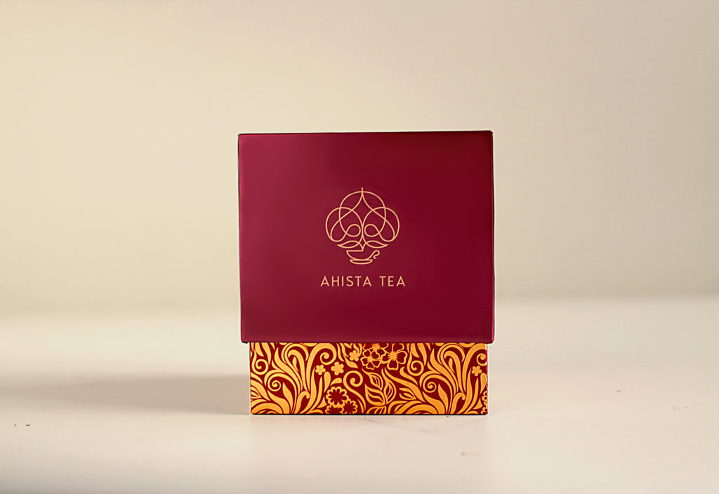 Ahista Tea Luxury Tea Gift Packaging for Tea Enthusiasts, Connoisseurs, Corporate Employees and Clients.