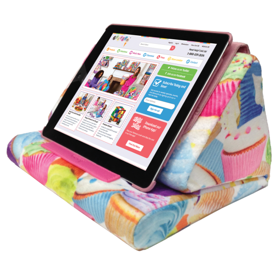 Tablet Pillow, 6 fun prints