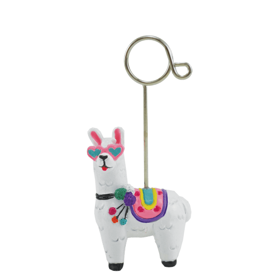 Photo Holder, Llama