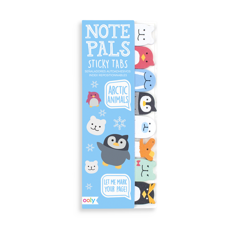 Note Pals Sticky Tabs, Arctic Animals