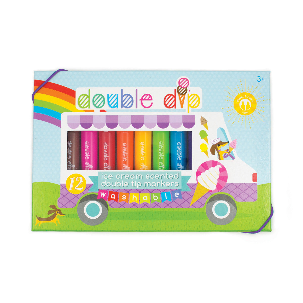 Double Dip Ice Cream Scented Marker Set