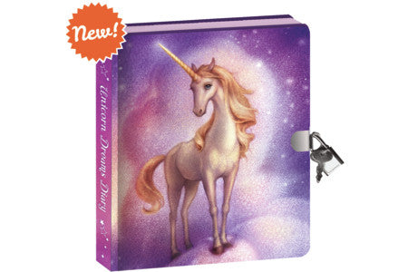 Diary, Unicorn Dreams Invisible Ink