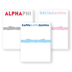 Sorority Notepad, Mini Bright