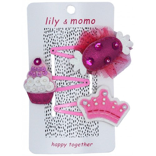 Lily & Momo Hairclips, Large