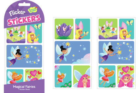 Stickers, Flicker Magical Fairies