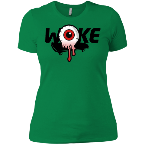 Image of Woke Eyeball Ladies Tee