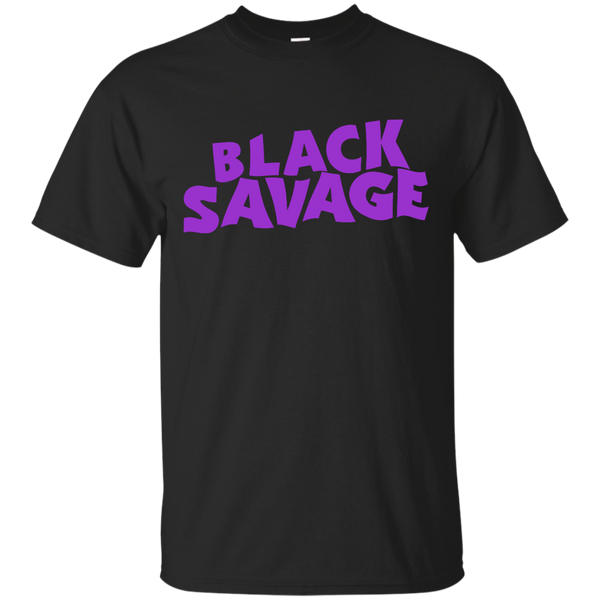 Black Savage Mens T-Shirt