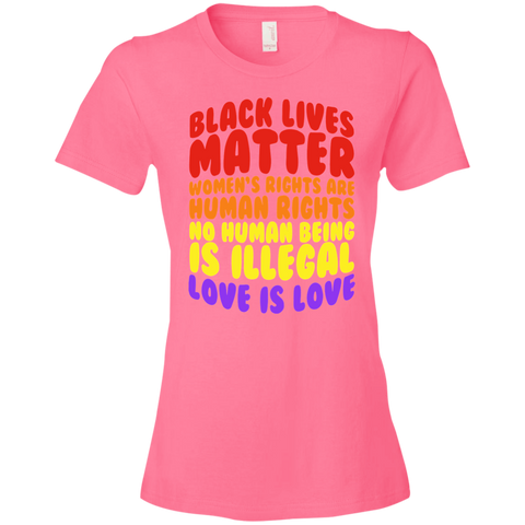 Image of Love is Love Ladies' T-Shirt