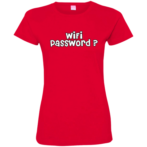 Image of Wifi Password?  Ladies' T-Shirt