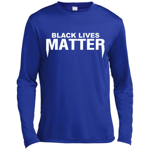 Image of Black Lives Matter Long Sleeve Moisture Absorbing Shirt
