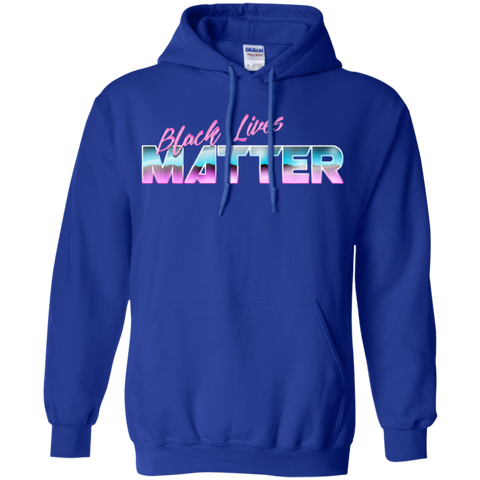Image of BLM Midnight Wave Pullover Hoodie