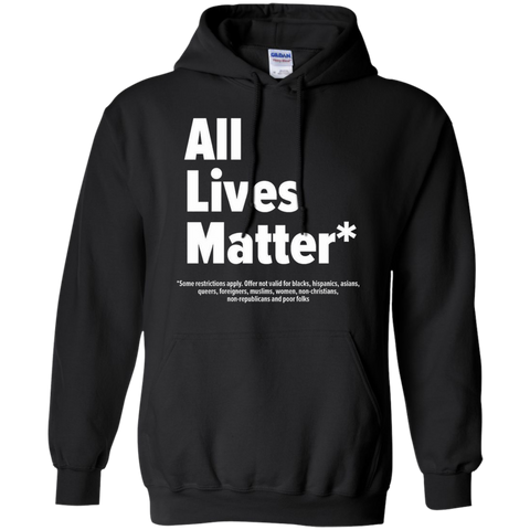 Image of ALL LIVES MATTER? T-SHIRT