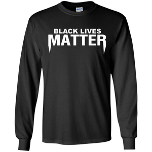 Black Lives Matter LS Ultra Cotton Tshirt