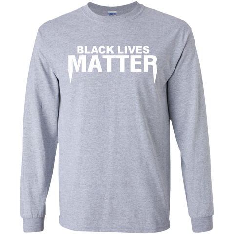 Image of Black Lives Matter LS Ultra Cotton Tshirt