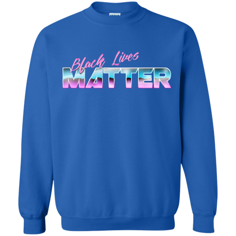 Image of BLM Midnight Wave Crewneck