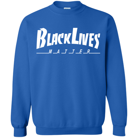 Image of BLM Skate White Crewneck