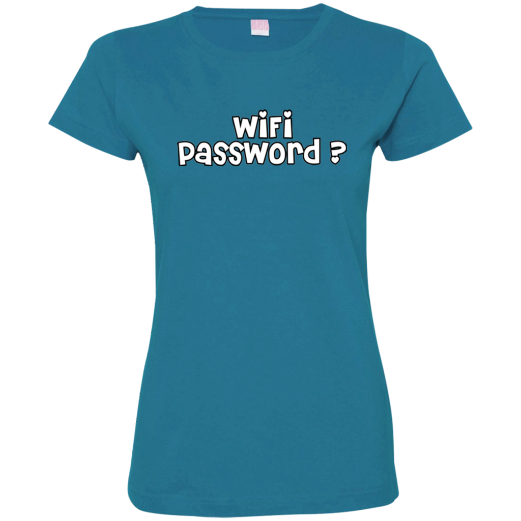 Wifi Password?  Ladies' T-Shirt