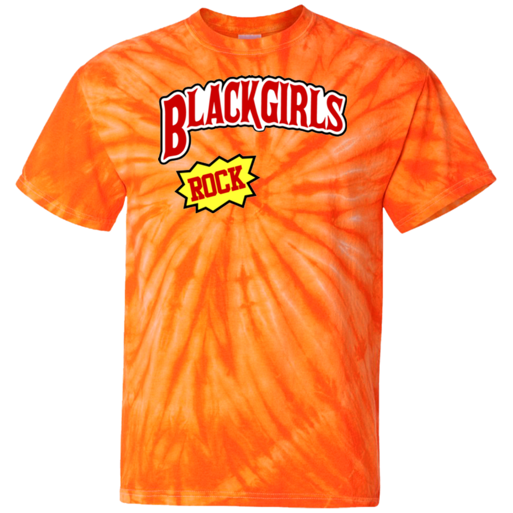 Black Girls Rock Tie Dye T-Shirt