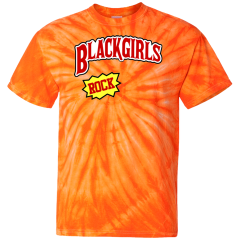 Image of Black Girls Rock Tie Dye T-Shirt