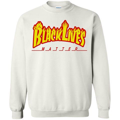 Image of Black Lives Matter Lit Unisex Sweatshirt