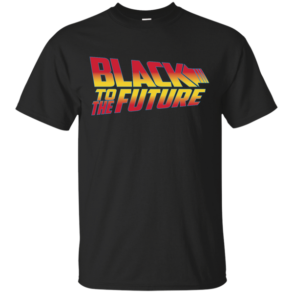 Black To The Future Mens T-Shirt