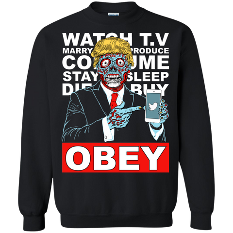 Tump They Live Obey Black Crew