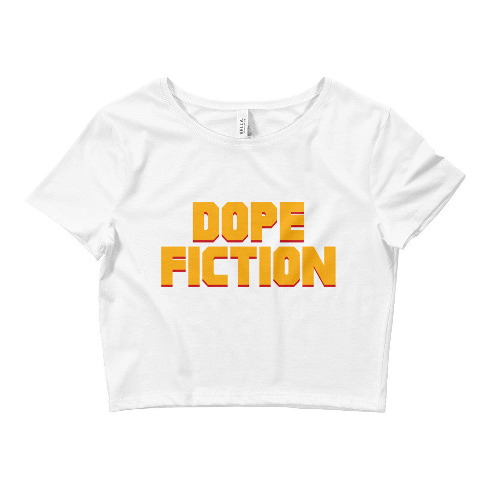 Dope Fiction Women's Crop Tee