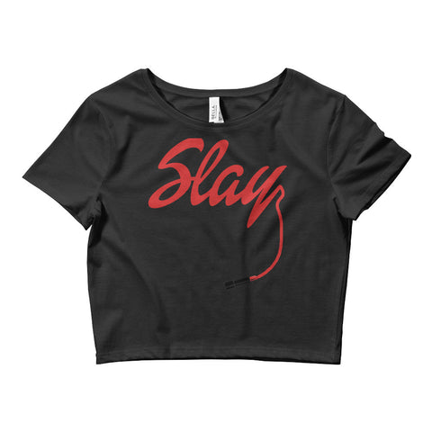 Image of Slay Women's Crop Tee
