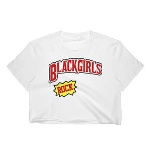 Black Girls Rock Women's Crop Top