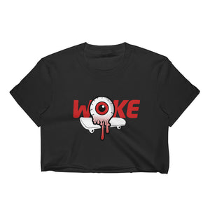 Woke Red Women's Crop Top