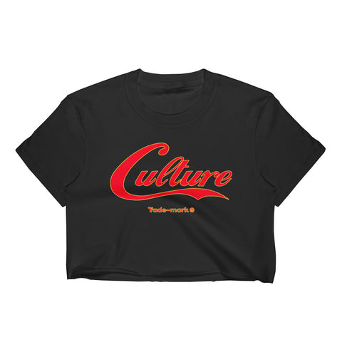 Image of Culture RED Women's Crop Top