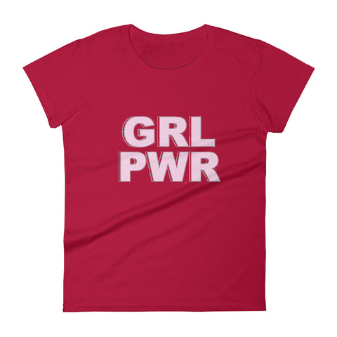 Image of GRL PWR Women's short sleeve t-shirt