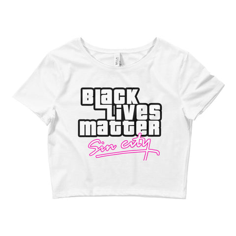 BLM GTA Women's Crop Tee