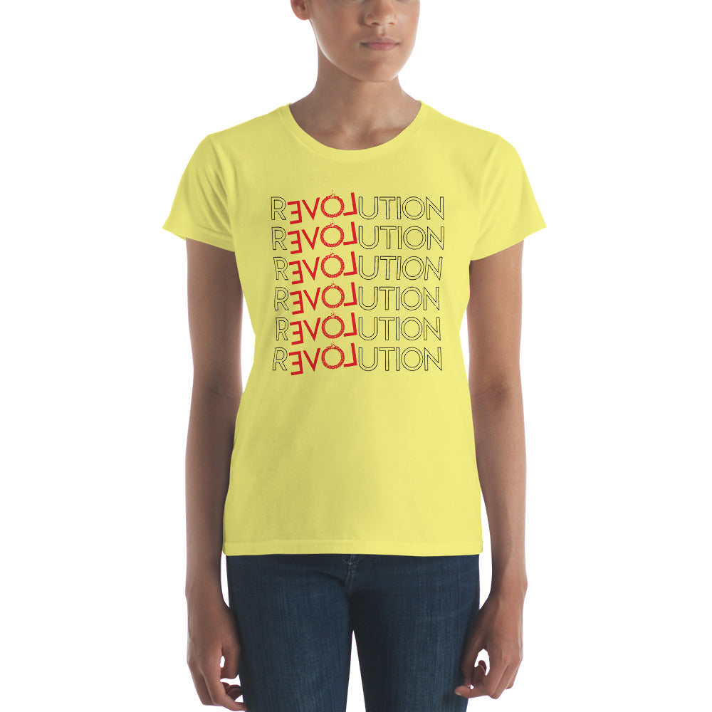 rEVOLution Women's short sleeve t-shirt
