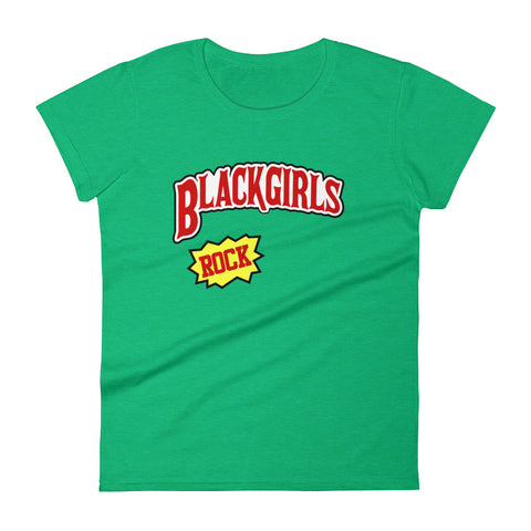 Image of Black Girls Rock Women's short sleeve t-shirt