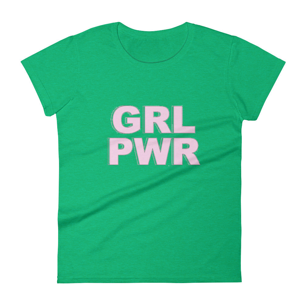 GRL PWR Women's short sleeve t-shirt