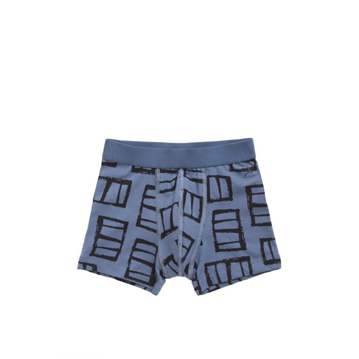 TEN CATE Short window landscape indigo