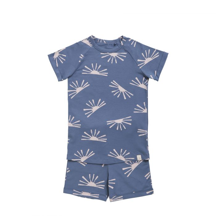 TEN CATE Pyjama set sunrise grey indigo