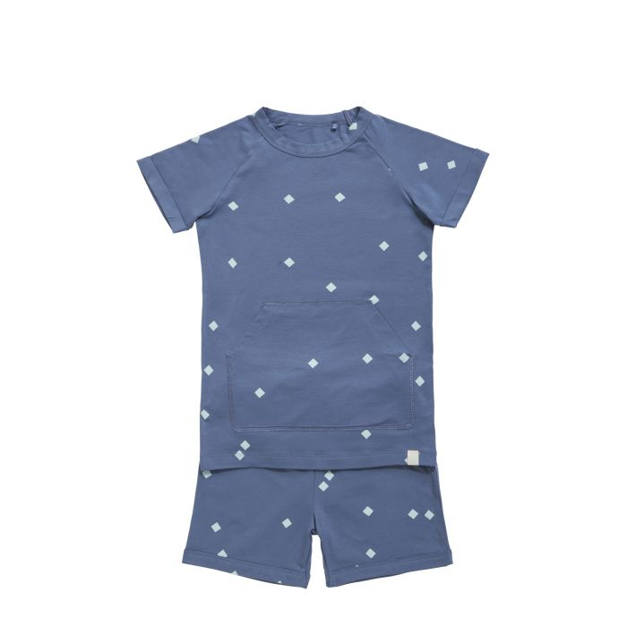 TEN CATE Pyjama Set ice flakes grey indigo
