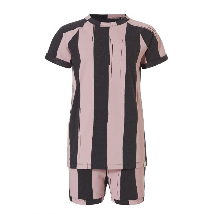TEN CATE Pyjama set creek zwart melee