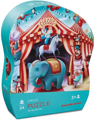 Crocodile Creek - Mini puzzel - Circus