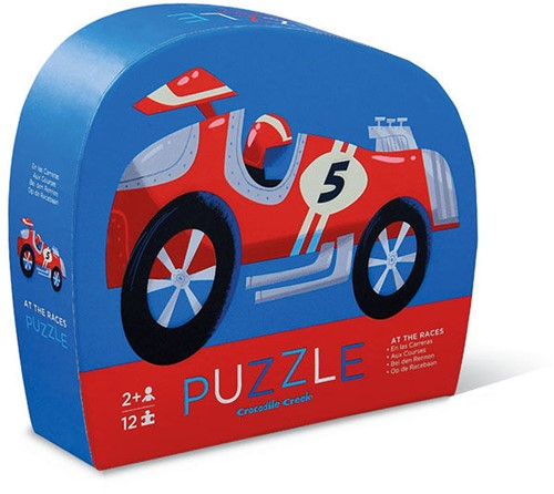 Crocodile Creek - Mini puzzel - Race Car