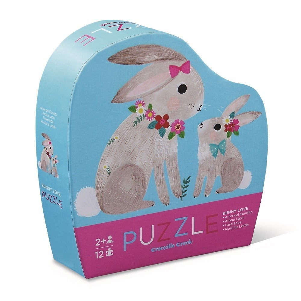 Crocodile Creek - Mini puzzel - Bunny Love