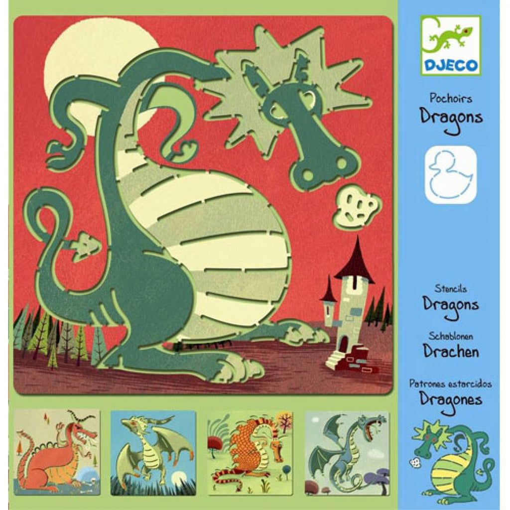 DJECO - Sjabloon Dragons