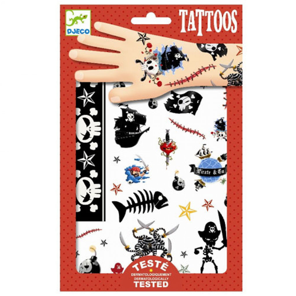 DJECO - Tattoos Pirates