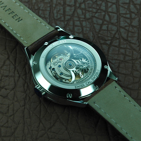 A65 Dress Watch with skeletonised coat of arms