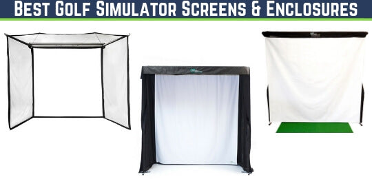 best golf simulator screen enclosure