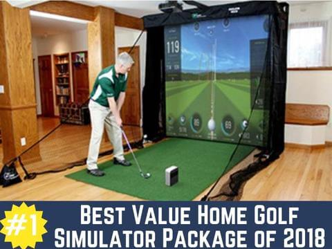 Skytrak Golf Simulator