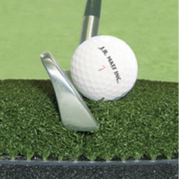 Country Club Elite Golf Mat Swing Down and Through