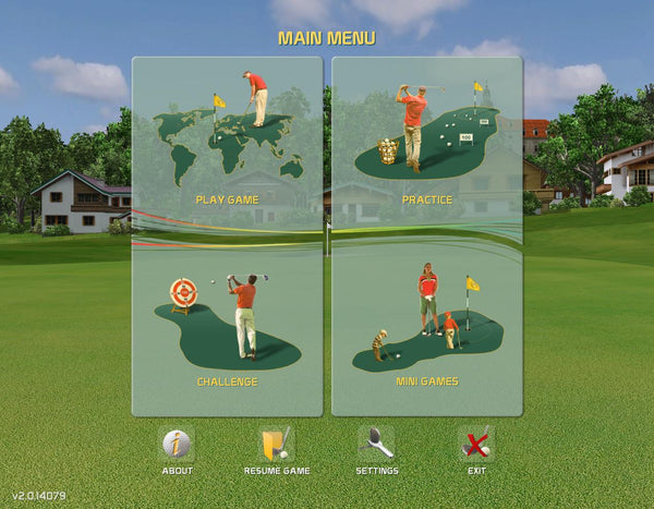 Creative Golf 3D Features
